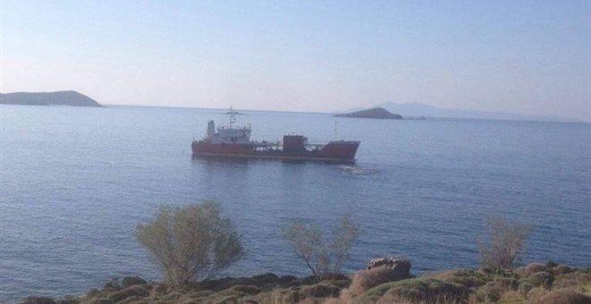Το Δεξαμενόπλοιο Άγιος Ανδρέας προσάραξε ανοιχτά της Άνδρου