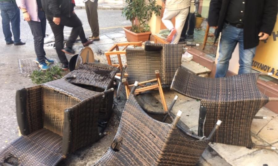 Επεισόδια στο Αγρίνιο πριν από το Παναιτωλικός-ΠΑΟΚ (vids/pics)