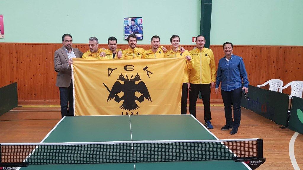 Πρωταθλήτρια η ΑΕΚ στο πινγκ-πονγκ!
