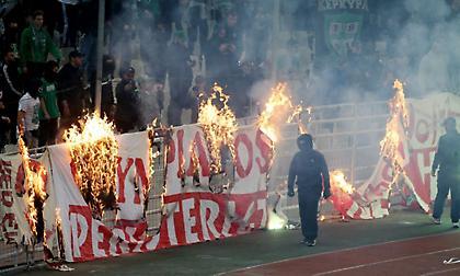 Ποινικές διώξεις και άμεση απαγόρευση εισόδου στα γήπεδα για τους συλληφθέντες