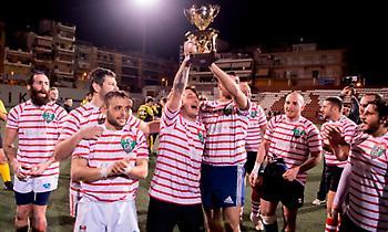 Οι Γκλαντιατόρι Ρόμα κατέκτησαν το Ευρωπαϊκό Κύπελλο ράγκμπι λιγκ
