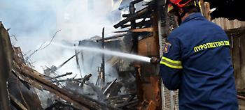 Αχαϊα: Λαμπάδιασε στάβλος με σανό, κάηκαν ζώα