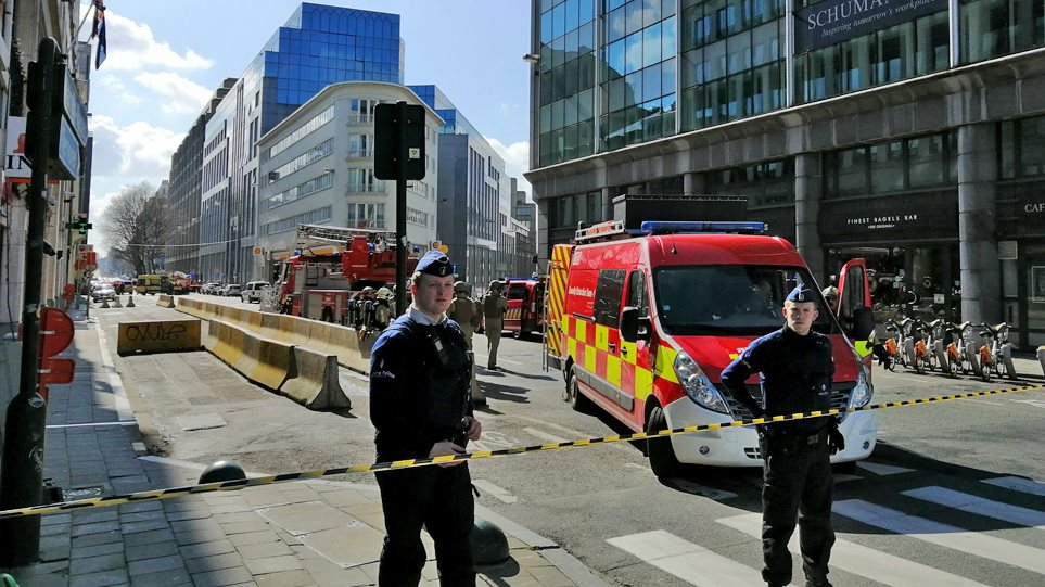 Συναγερμός στις Βρυξέλλες: Απειλή για βόμβα κοντά στην Κομισιόν