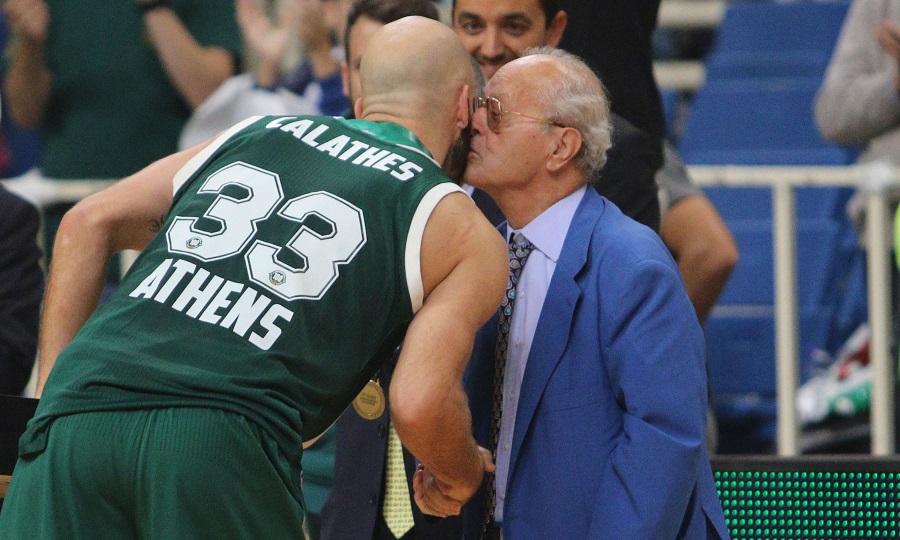 Καλάθης για Θανάση: «Νοιαζόταν για όλους, όχι μόνο για το μπάσκετ»