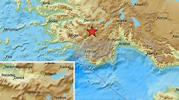 Τουρκία: Ισχυρός σεισμός μεγέθους 5,6 ρίχτερ στο δυτικό τμήμα της χώρας