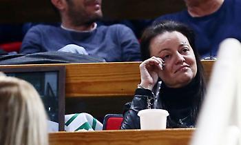 Η συγκίνηση της κόρης του Θανάση Γιαννακόπουλου (pics)