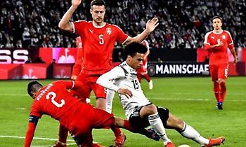 Ισοπαλία με νεύρα για Γερμανία, Σερβία