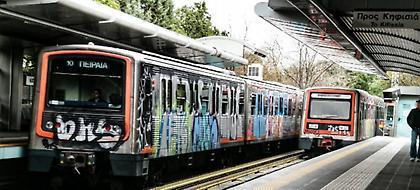 Χωρίς τρένα του ΗΣΑΠ για τρεις ώρες η Αθήνα - Πότε σταματούν τα δρομολόγια