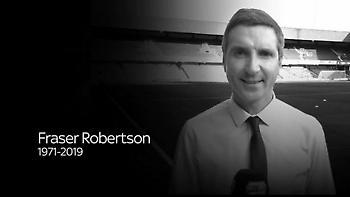 Θρήνος για τον θάνατο του 47χρονου ρεπόρτερ, Φρέιζερ Ρόμπερτσον