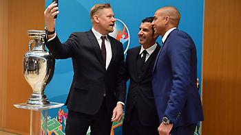 Καρεμπέ, Ντελ Πιέρο και άλλοι σπουδαίοι παίκτες πρεσβευτές του Euro 2020