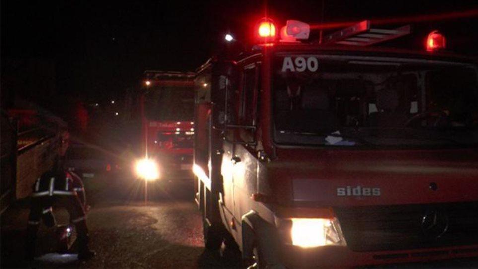 Λέσβος: Mονοκατοικία ηλικιωμένου ζευγαριού κάηκε ολοσχερώς σε λίγα λεπτά