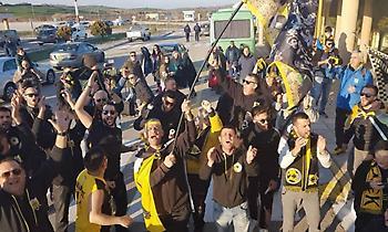 Αποθέωση για ΑΕΚ στη Λήμνο (pics&video)