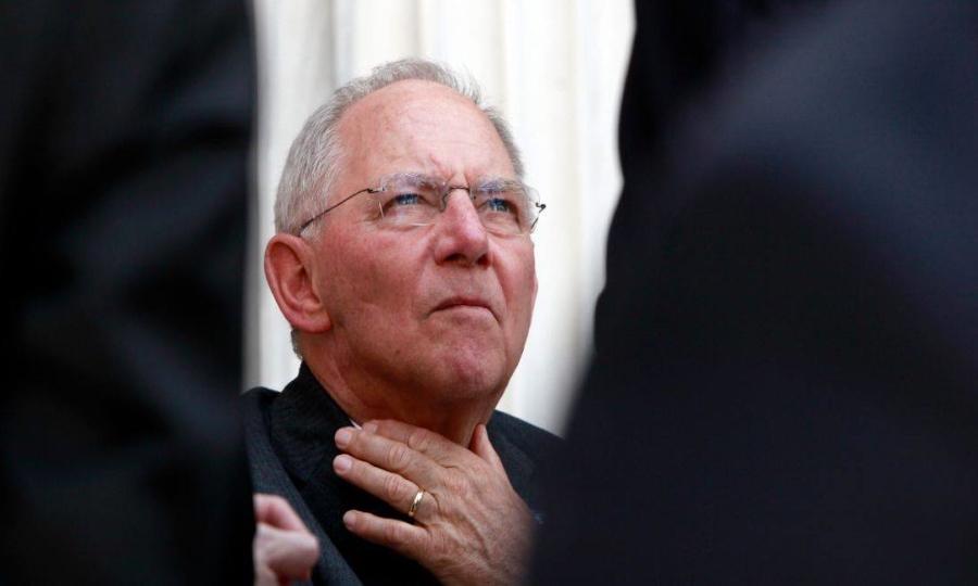 Σόιμπλε: Έφτασα λίγο πριν την παραίτηση λόγω Ελλάδας