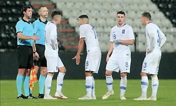 Φιλική ήττα για τις Ελπίδες από τη Σλοβακία με αγγλικό σκορ!