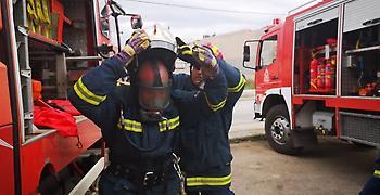 Πυρκαγιά σε πολυκατοικία στα Γρεβενά