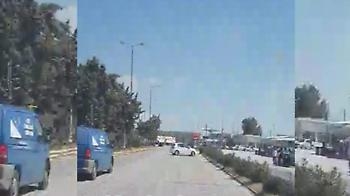 Οδηγός μπήκε ανάποδα στην Αθηνών- Κορίνθου, από τύχη δεν έγινε τροχαίο