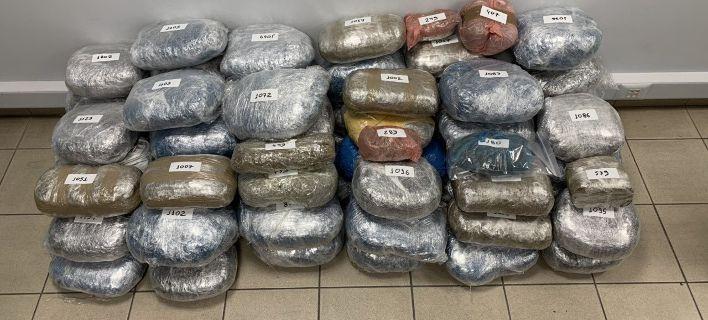 Εξαρθρώθηκε συμμορία με 70 κιλά κάνναβης -Τέσσερις συλλήψεις
