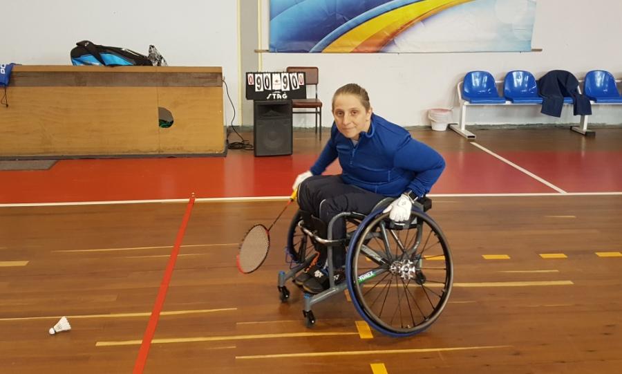 Στην Τουρκία η Κοροκίδα για το 5th Turkish Para-Badminton International