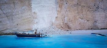 Ζάκυνθος: Το λιμενικό απαγόρευσε κάθε πρόσβαση στο Ναυάγιο -Αγνωστο αν θα «ανοίξει» το καλοκαίρι