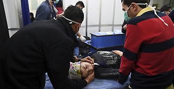 Αντάρτες βομβάρδισαν με αέριο χωριό στη Συρία –Στο νοσοκομείο 21 τραυματίες
