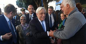 Παυλόπουλος: Nα υπερασπιζόμαστε ενωμένοι τα εθνικά μας θέματα