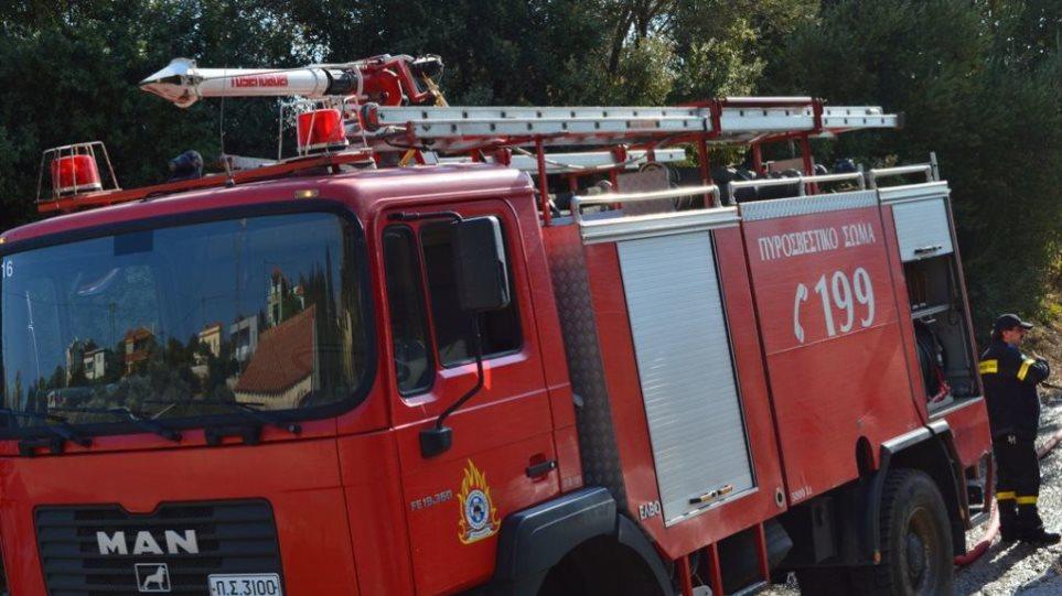 Κρήτη: Πυρκαγιά σε ορεινή περιοχή - Ο αέρας «εχθρός» της επιχείρησης