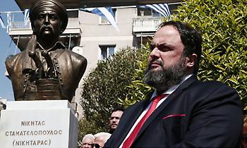 Μαρινάκης για την 25η Μαρτίου: «Μάθημα αυταπάρνησης και γενναιότητας για την ανθρωπότητα»