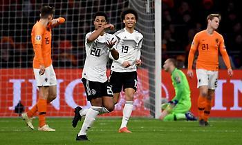 Τρομερή γκολάρα του Γκνάμπρι και 2-0 η Γερμανία μέσα στην Ολλανδία (vids)