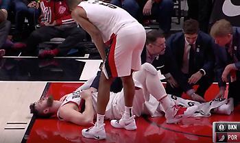 Σοκαριστικός τραυματισμός για Νούρκιτς! (video)