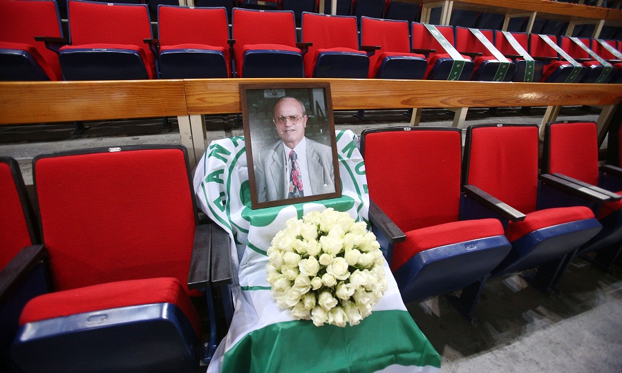 Τελευταίο «αντίο» στον Θανάση Γιαννακόπουλο
