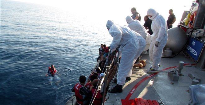 Τουλάχιστον 4 νεκροί μετανάστες από βύθιση σκάφους με κατεύθυνση τη Λέσβο