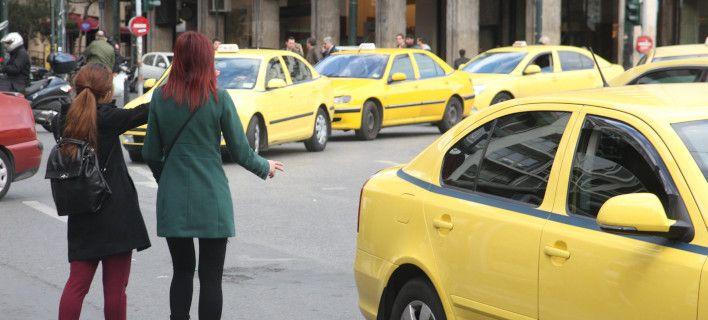 Γυναίκα γέννησε σε ταξί στο κέντρο της Αθήνας-Σε ρόλο μαιευτήρα ο ταξιτζής