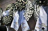 Στεφάνια από Σπανούλη, Αγγελόπουλους και ΚΑΕ Ολυμπιακός για Θανάση (pics)