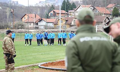 Έτοιμη για τη «μάχη» με τη Βοσνία η Εθνική (pics)