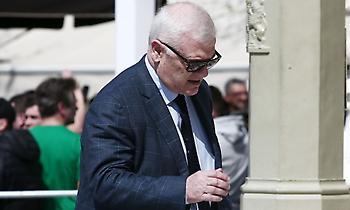 Στην κηδεία του Θανάση Γιαννακόπουλου ο Μελισσανίδης (pics)