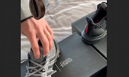 Με άρωμα... Game of Thrones τα νέα παπούτσια του Μέσι! (vids)