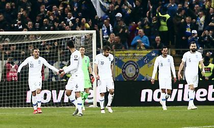Τρικυμία για την Εθνική: Δέχθηκε δεύτερο γκολ στο πρώτο τέταρτο από τη Βοσνία (video)