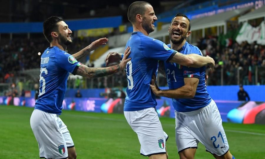 Εξάρα με Κουαλιαρέλα και κορυφή για Ιταλία