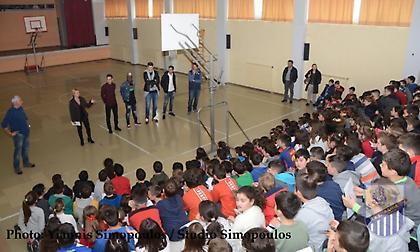 Επίσκεψη της Λαμίας στο 6ο δημοτικό σχολείο