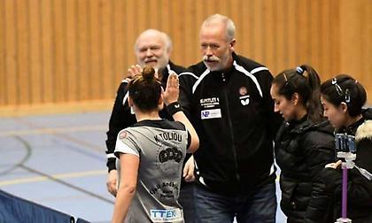 Στον τελικό του σουηδικού πρωταθλήματος η Στόρφορς, η Τόλιου χαμογέλασε στην ελληνική «μονομαχία»