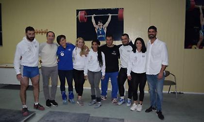 Με έξι αθλητές στο Ευρωπαϊκό άρσης βαρών