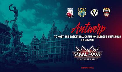 Στην Αντβέρπ το Final-4 του Basketball Champions League
