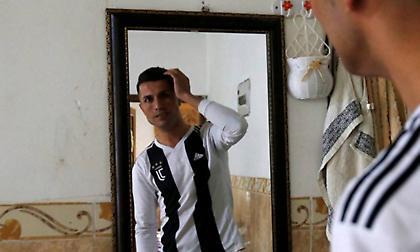 Ο απόλυτος σωσίας του Ρονάλντο είναι Ιρακινός ποδοσφαιριστής! (pics)