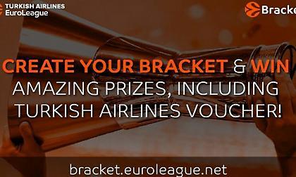 Ευρωλίγκα: Συμπλήρωσε σωστά το «EuroLeague Bracket» και κέρδισε μοναδικά δώρα!
