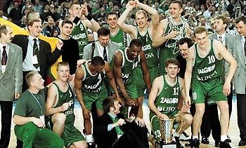 Τιμά Καζλάουσκας και την ομάδα του '99 η Ζαλγκίρις
