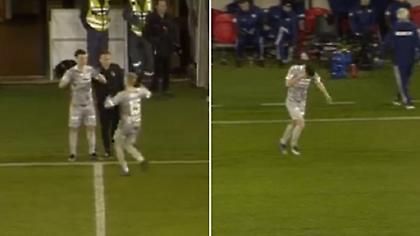 Παίκτης τραυματίστηκε στο μάτι στη διάρκεια αλλαγής (video)
