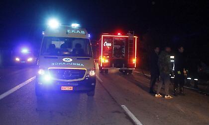Μεσογείων: Θανατηφόρο τροχαίο, νεκρή μια γυναίκα