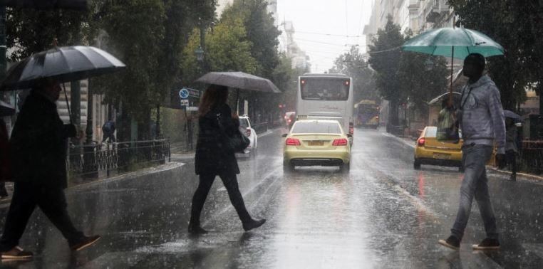 Εκτακτο δελτίο επιδείνωσης καιρού: Ερχονται καταιγίδες και χαλάζι