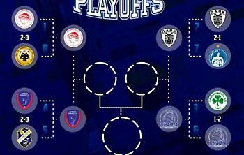 Το πρόγραμμα των τρίτων, τέταρτων και πέμπτων ημιτελικών της Volley League