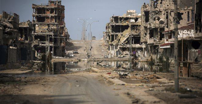 Τρόμος στη Λιβύη από αεροπορικές επιδρομές το βράδυ του Σαββάτου